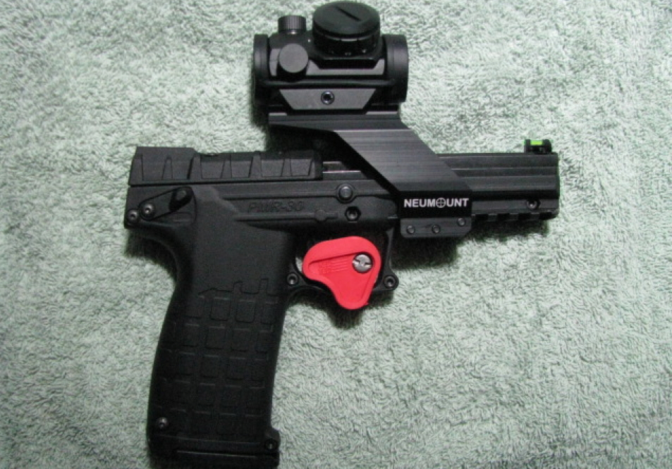 This kel tec belongs to michael one of our customers he s installed